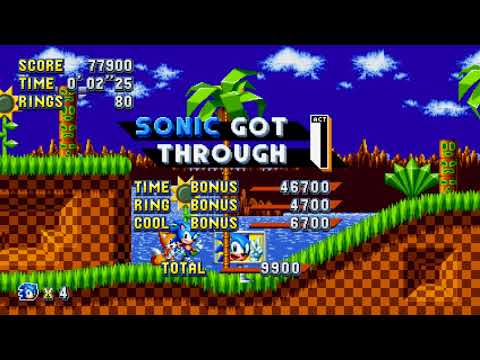 Sonic Mania Level Screen Image