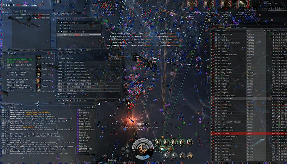EVE Online Interface Image